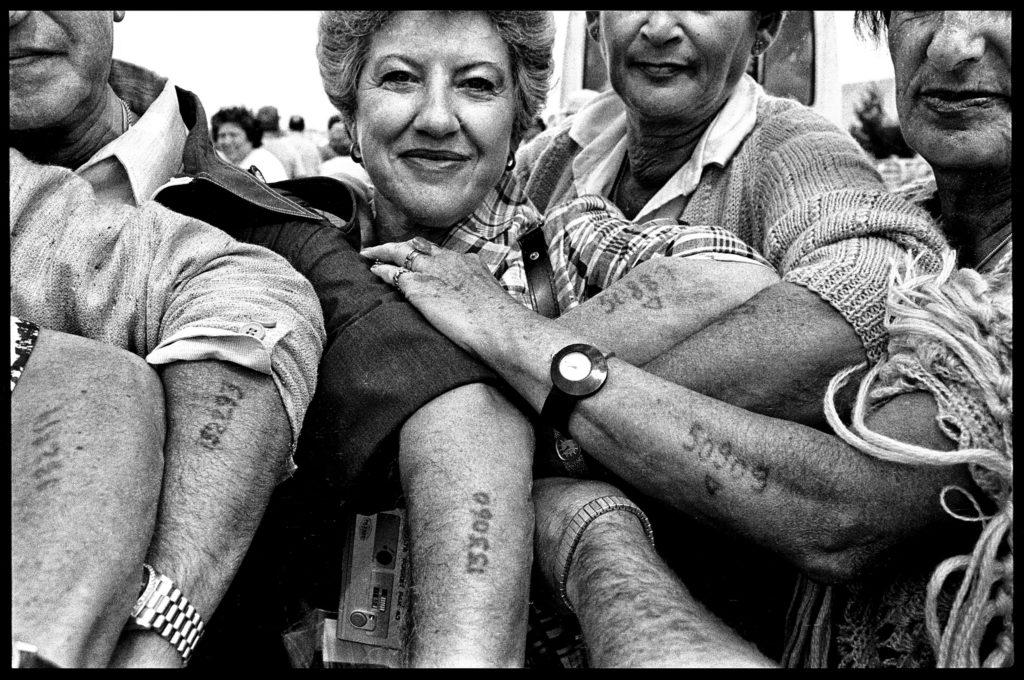 Rassemblement d'anciens déportés. Jérusalem, Israël, 14 Juin 1981